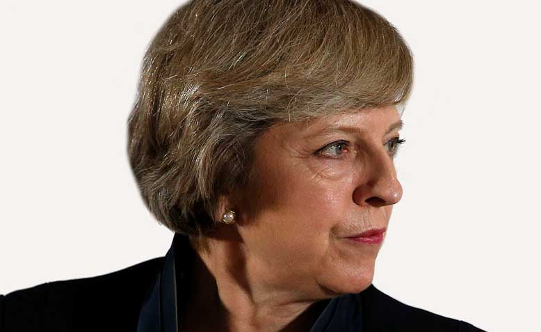 UK Prime Minister Theresa May. Photo: Flickr / Teacher Dude