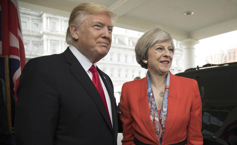 Donald Trump and Theresa May, 2017. Photo: Wikimedia Commons