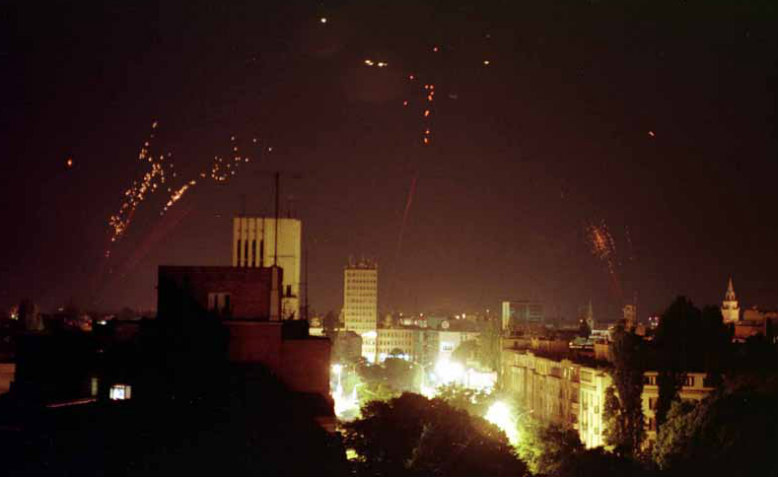 Nato bombing of Yugoslavia. Photo: Wikimedia Commons
