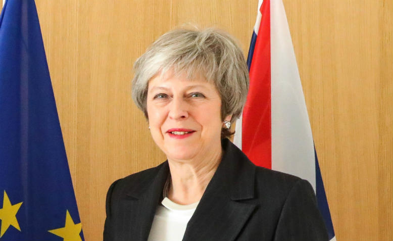 Theresa May. Photo: Flickr/Number 10