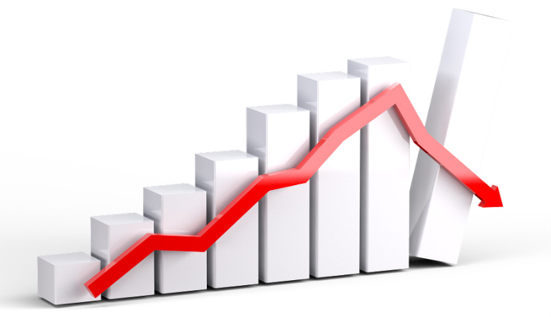 Market slump arrow graphy source: Mediamodifier Pixabay