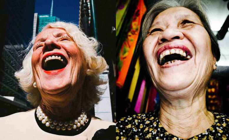 Laughing ladies. Photo via Good Free Photos