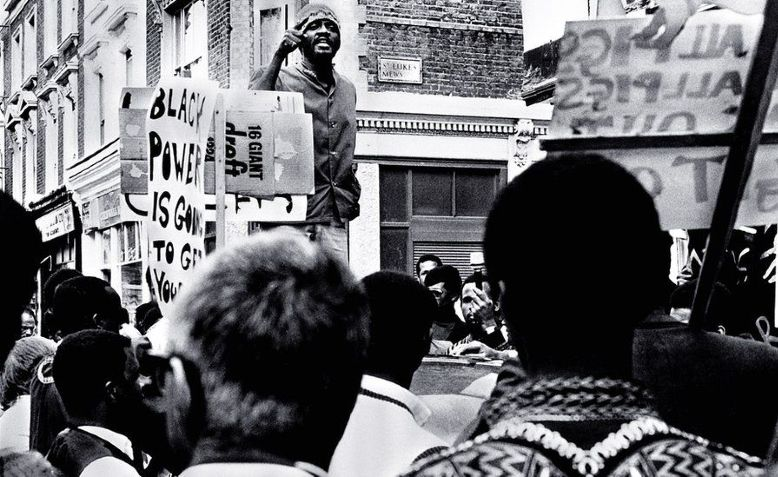 Caption: Photo: Black Power: A British Story of Resistance, BBC