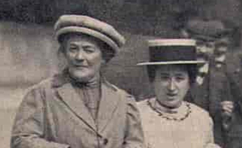 Rosa Luxemburg and Clara Zetkin
