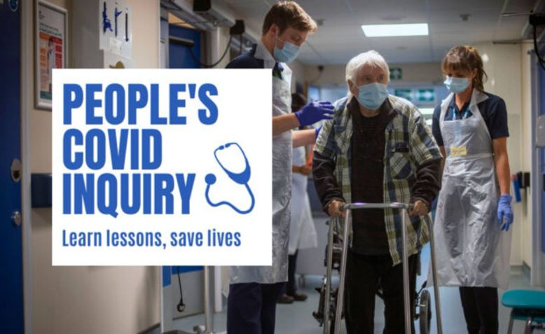 People's Covid Inquiry. Photo: Keep our NHS Public
