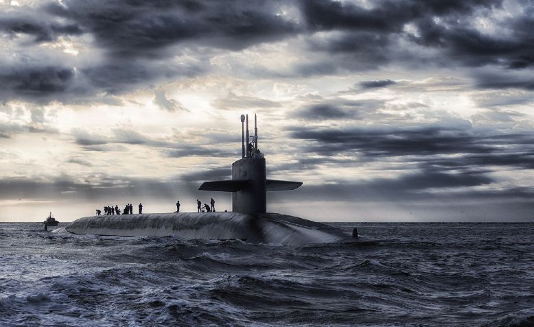 Trident Nuclear Submarine. Image by David Mark from Pixabay