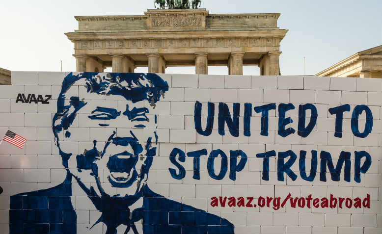 Berlin United against Trump, September 2016