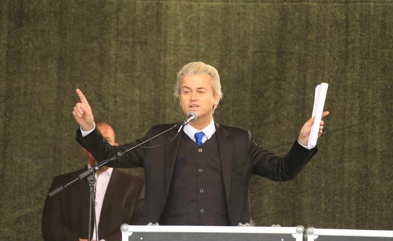 Geert Wilders in 2015. Photo: Flickr/ Metropolico
