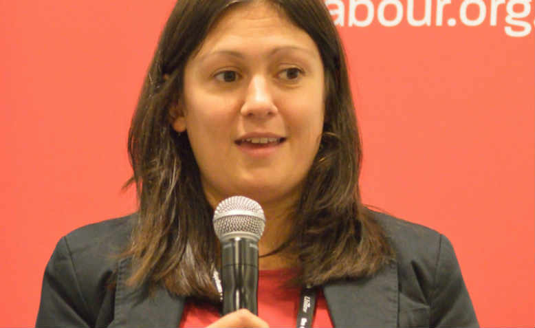 Lisa Nandy MP at Labour Party conference, 2016