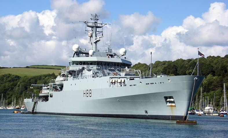HMS Enterprise is being sent to Libya. Photo: Sounddezign/Wikimedia