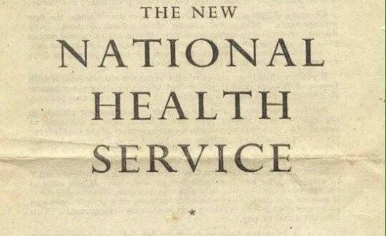 The original leaflet launching the NHS in England and Wales. Photo: Wikipedia