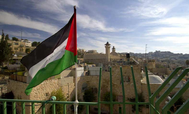 A Palestinian flag. Photo: Flickr/ Andrew E. Larsen