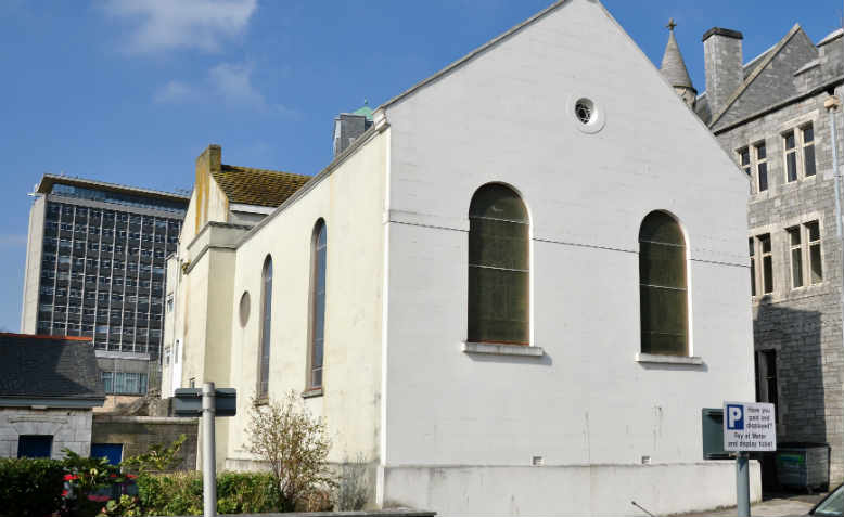 Plymouth Synagogue, built in 1762