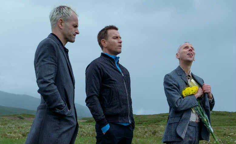 Sickboy, Renton and Spud contemplate their futures in the 21st century
