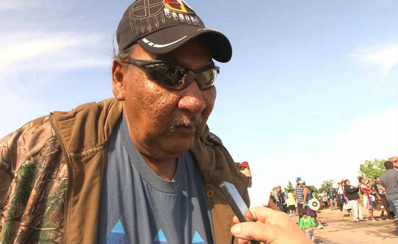 Standing Rock Tribal Elder BJ Kidder makes his case