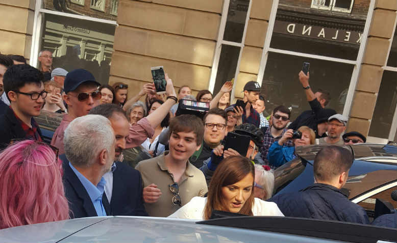corbyn in York