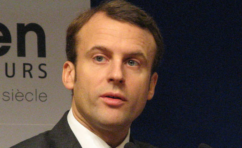 Emmanuel Macron. Photo: Wikimedia Commons