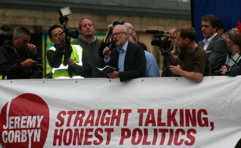 Jeremy Corbyn in Liverpool. Photo: Flickr/Kevin Walsh