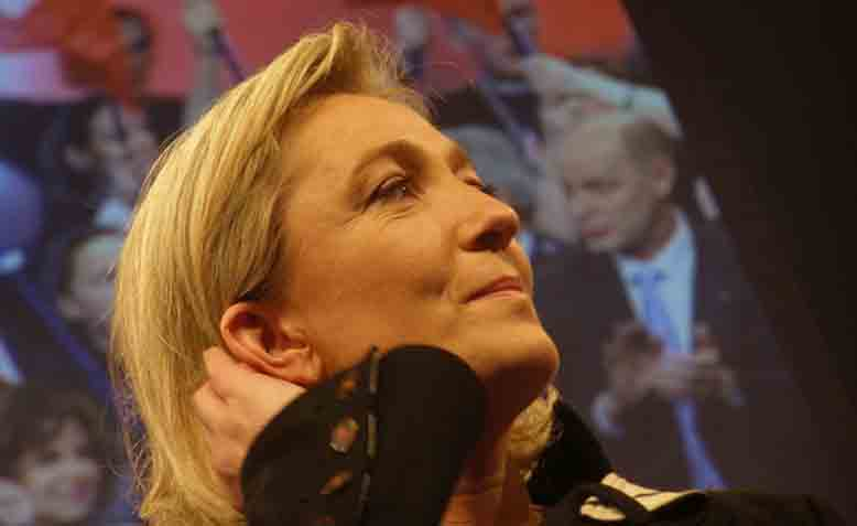 Marine Le Pen, former leader of Le Front National. Photo: Wikipedia