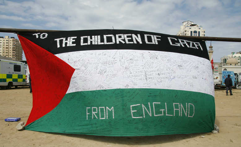Gloucester 2 Gaza Convoy, 2009. Photo: Flickr/gloucester2gaza