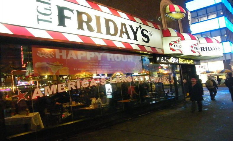TGI Friday's. Photo: Wikimedia Commons