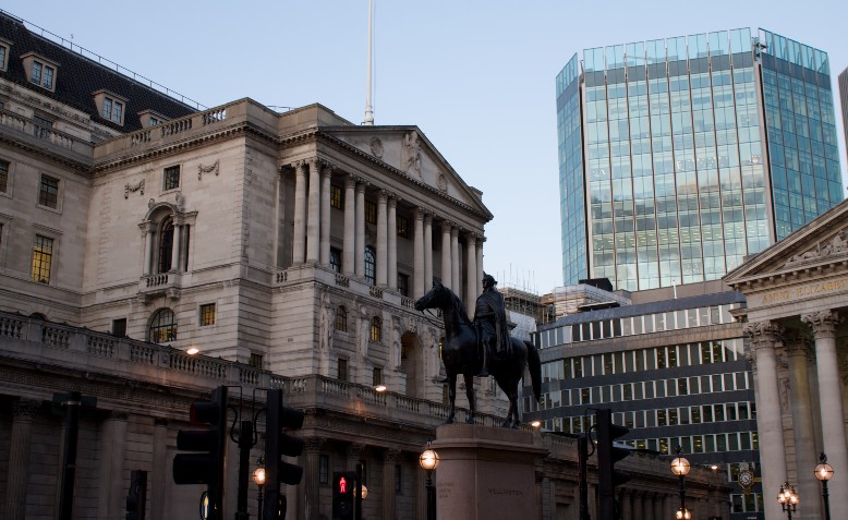 Bank of England. Photo: Flickr/Alexander Johmann