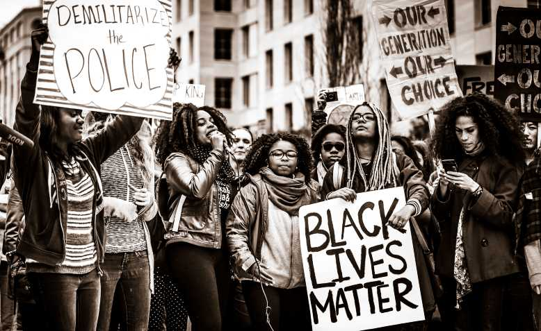 Black Lives Matter protest, 2015. Photo: Wikimedia Commons