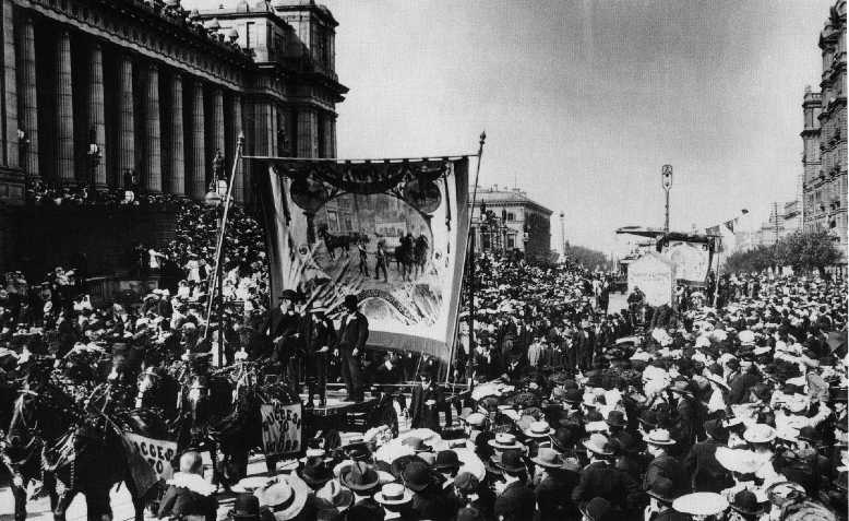 Eight hour day march, Melbourne. Photo: Wikimedia Commons