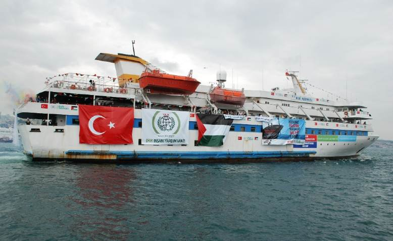 Mavi Marmara. Photo: Flickr/Free Gaza Movement