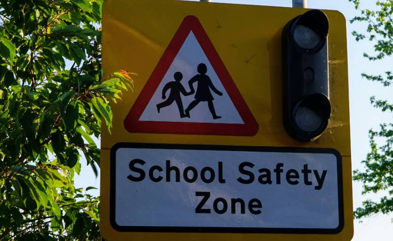 School safety zone. Source: Counterfire
