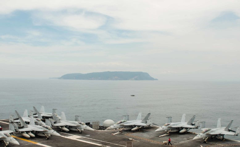 USS John C. Stennis in South China Sea. Source: defense.gov