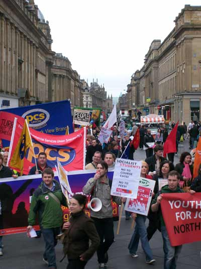 may day in Newcastle 2010