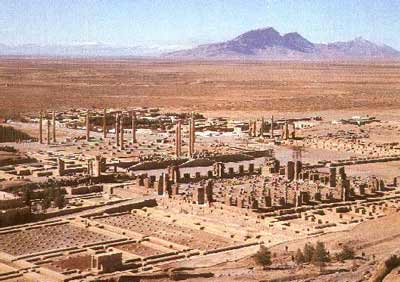 The Persian imperial capital at Persepolis
