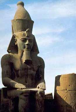 Pharaoh Ramesses II - a barrier to progress