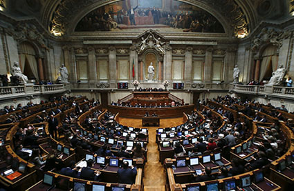 Assembly of the Republic in Portugal.