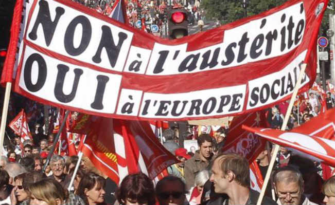 austerity demo france