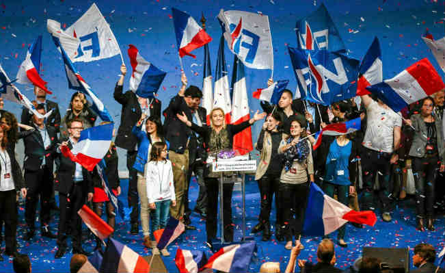 Front National rally