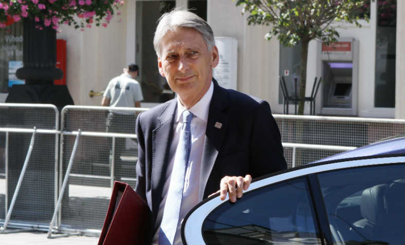 Philip Hammond, Chancellor of the Exchequer, September 2016. Photo: Flickr/EU2016 SK