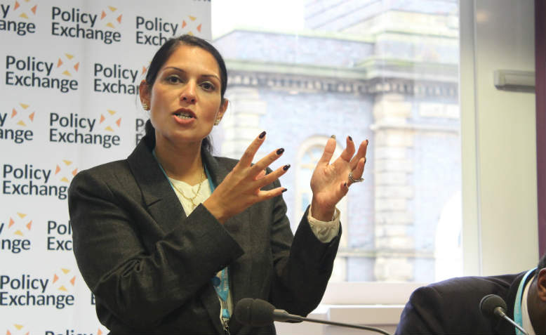 Priti Patel. Photo: Flickr/Policy Exchange