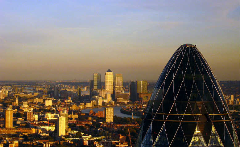 City of London. Photo: Wikimedia Commons