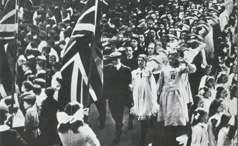 Empire Day 1914. Photo: britishempire