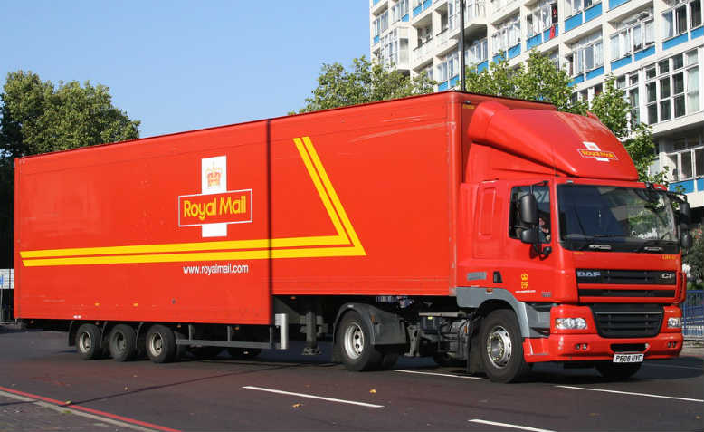 Royal Mail truck. Photo: Flickr/Eddie
