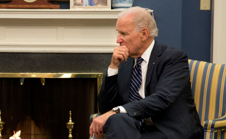 Joe Biden in the White House, 2013. Photo: Dannel Malloy / Wikimedia Commons / cropped from original / CC BY 2.0, license linked at bottom of article