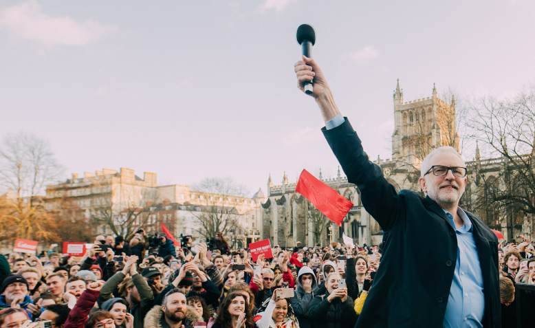 Jeremy Corbyn rally in Bristol