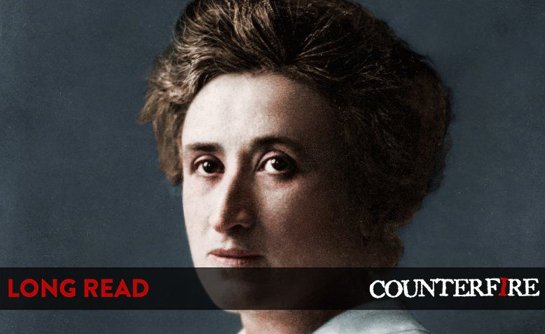 Rosa Luxemburg, colourised. Photo: Cassowary Colorizations / Flickr / CC BY 2.0, license linked at bottom of article