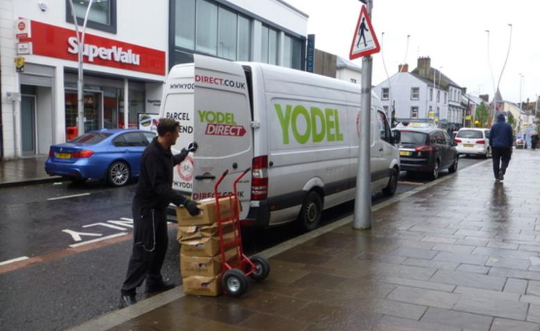 Yodel delivery. Photo: Kenneth Allen / Geograph / CC BY-SA 2.0, license linked at bottom of article