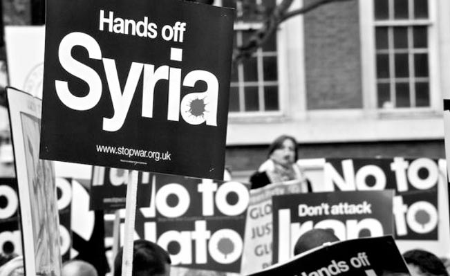 Hands off Syria