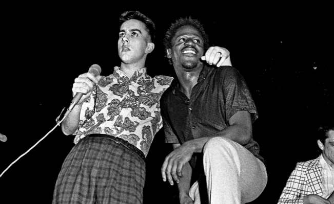 The Specials, Leeds 1981. Photo: The Guardian.