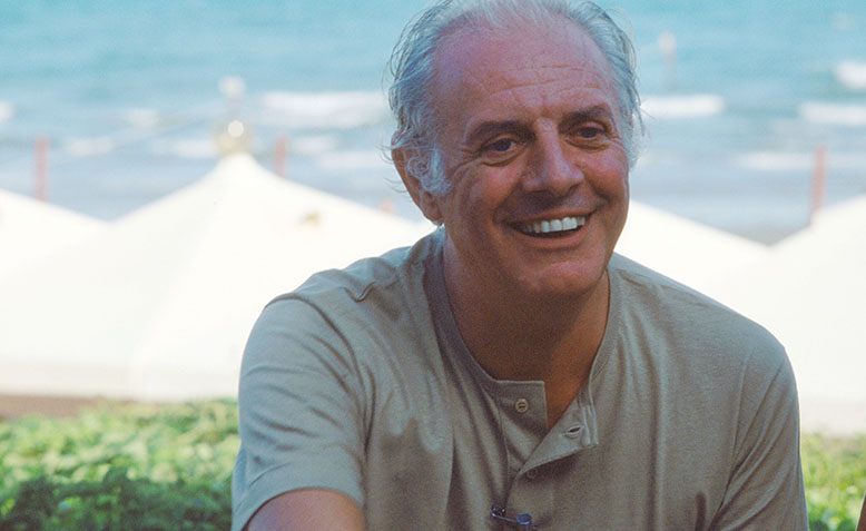 Dario Fo at Venice Film Festival. Photo: Wikipedia