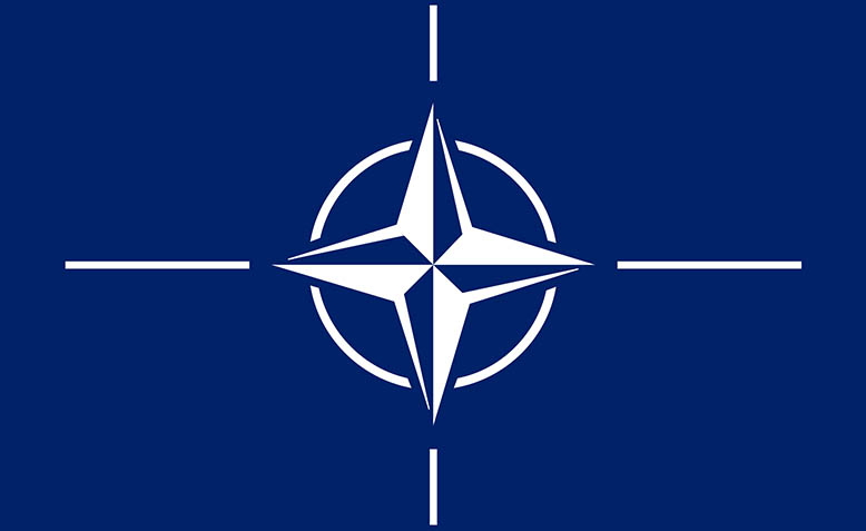 The Nato flag. Photo: Wikipedia